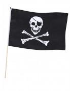 Drapeau de pirate  sur tige 45 x 30 cm