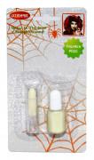 Vernis à ongles et rouge à lèvres fluorescents adulte Halloween