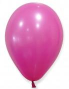 24 Ballons fuchsias 25 cm