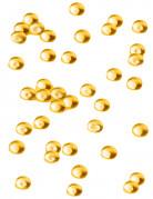 Perles effet goutte de pluie orange 80 g