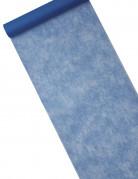 Chemin de table intissé bleu marine 29 cm x 10 m
