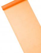 Chemin de table intissé orange 29 cm x 10 m