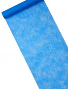 Chemin de table intissé bleu royal 29 cm x 10 m