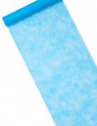 Chemin de table intissé bleu turquoise 10 m