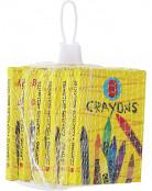 6 Boîtes de crayons de couleur 8,8 cm