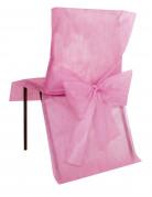 10 Housses de chaise Premium rose 50 x 95 cm
