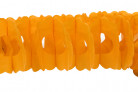 Guirlande papier orange 15cm x 4m
