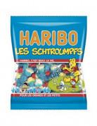 Sachet Bonbons Schtroumpfs Haribo 120 g.