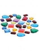 Sachet de fausses pierres précieuses de couleurs différentes