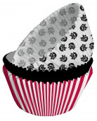 75 moules cupcake papier Pirate Party