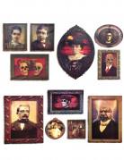 Décoration murale portraits Halloween