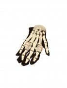 Gants squelette lumineux Halloween adulte