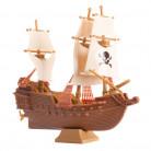 Décoration bateau pirate pour gâteau