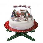 Décorations pour gâteaux de Noël
