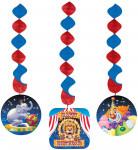 3 Décorations à suspendre Cirque