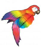 Décoration perroquet 76 cm