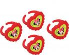 4 Petites bagues Minnie™