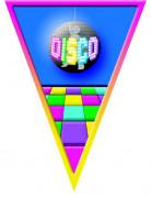 Guirlande fanions disco multicolore 5 m