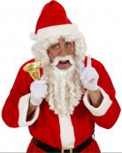 Perruque et barbe Père Noël luxe adulte