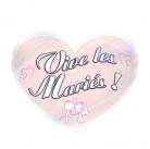 Magnet Vive les mariés