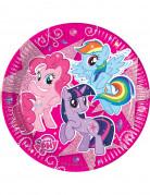 8 Assiettes carton  Mon petit poney™ 23 cm