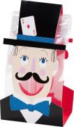 6 Sachets à bonbons Goûter entre magiciens