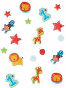 Confettis d'anniversaire 1 an garçon 34 gr