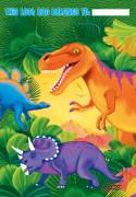 8 Sacs cadeaux Dinosaure