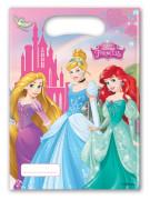 6 Sacs cadeaux Princesses Disney ™ 16.5 x 23 cm