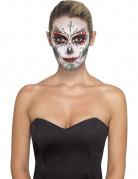 Kit maquillage squelette coloré adulte