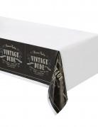 Nappe en plastique anniversaire Vintage 137 x 274 cm