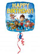 Ballon aluminium Happy Birthday Pat'Patrouille™ 43 cm