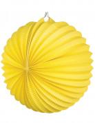 Lanterne boule jaune 23 cm
