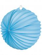 Lanterne boule bleu turquoise 23 cm