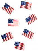 50 Confettis de table USA 4 x 2.6 cm