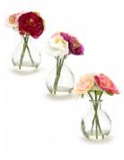 Petit vase de fleurs artificielles