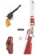 Kit Cowboy Sherif enfant en plastique
