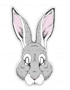 Masque papier cartonné lapin