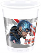 8 Gobelets Captain America Civil War™