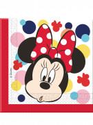 20 Serviettes en papier Minnie™ 33 cm