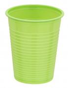 50 Gobelets vert anis 20 cl
