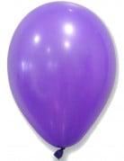 50 Ballons violets 30 cm