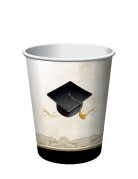 8 Gobelets en carton Congratulations Graduate 25 cl