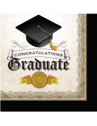 16 Serviettes Congratulations Graduate 33 x 33 cm