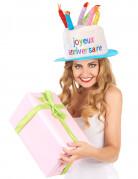 Chapeau joyeux anniversaire adulte