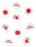 Confettis de table papier ensanglanté halloween
