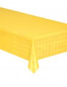 Nappe en rouleau papier damassé jaune 6 m