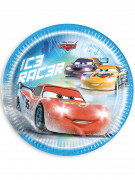 8 Assiettes en carton Cars Ice™ 23 cm