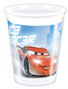 8 Gobelets en plastique Cars Ice Racers™ 200ml
