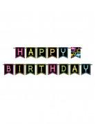 Guirlande Happy birthday Fluo Party 270 cm